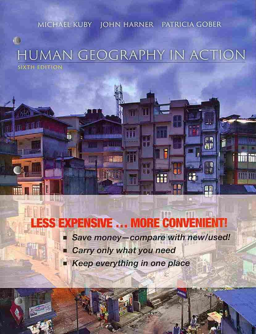 Human Geography in Action By Kuby, Michael